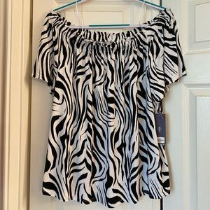 NWT Women's Off the Shoulder blouse top